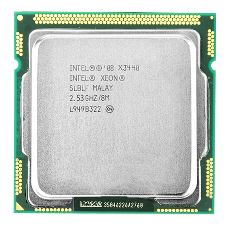 Intel Xeon X3440 CPU Processeur Xeon X3440 (8 m Cache, 2.53 ghz) LGA1156 CPU De Bureau