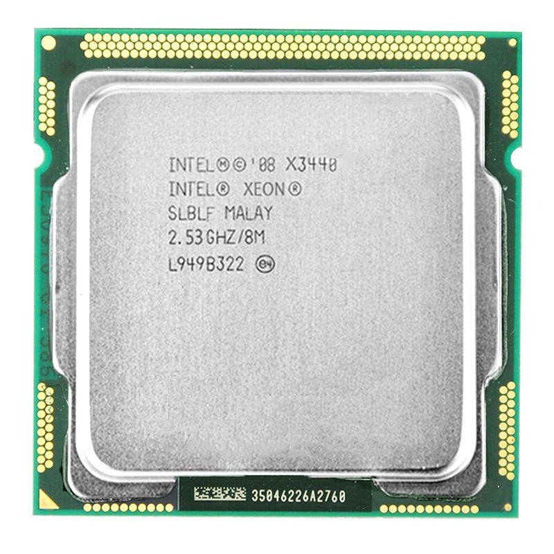 Processeur Intel Xeon X3440 CPU Xeon X3440 (Cache de 8 M, 2.53 GHz)) processeur de bureau LGA1156
