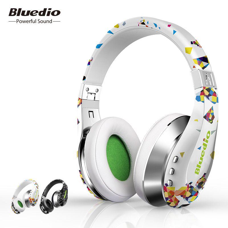 Bluedio Air pliable bluetooth casque BT4.1 Stéréo sans fil casques pour téléphone portable Cadeau De Mode avec 3D son surround