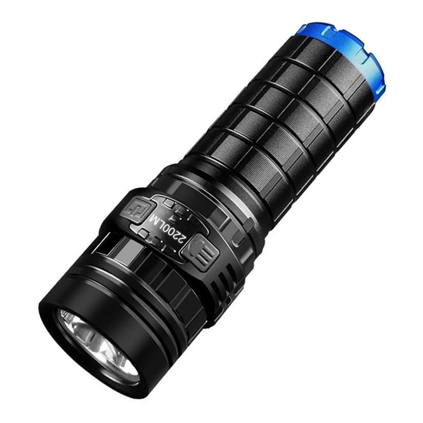 IMALENT DN35 USB Rechargeable CREE XHP70 2200 Lumens LED Flashlight Self Defense with IPX-8 waterproof with 26650 Battery