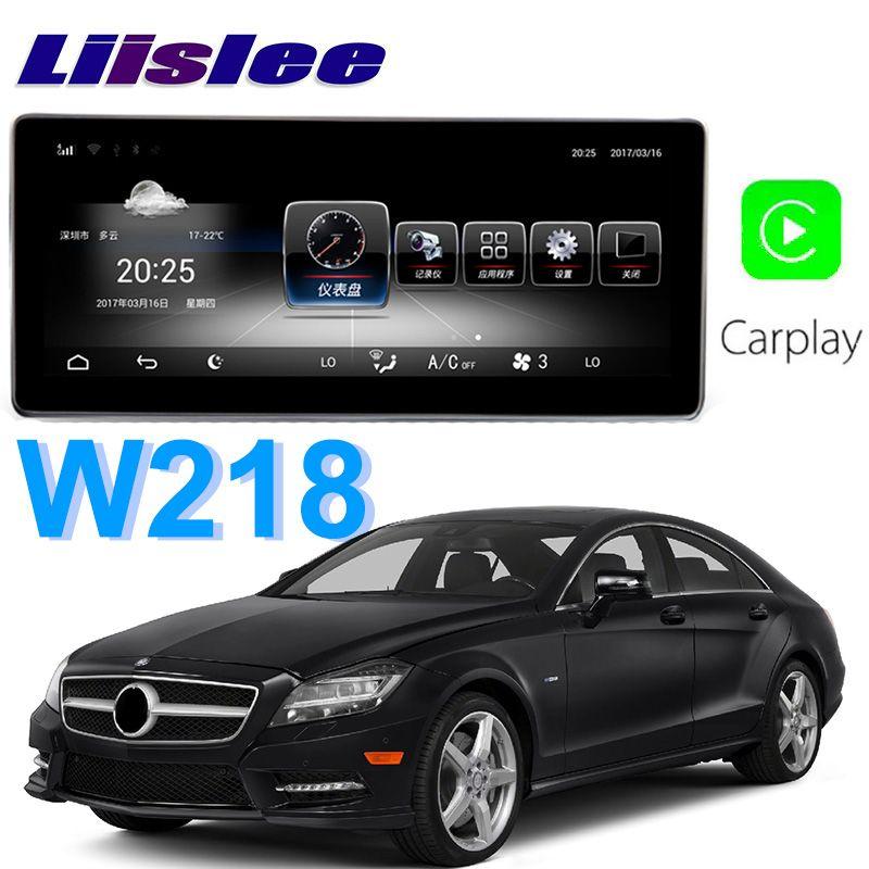 Liislee Auto Multimedia Player NAVI Für Mercedes Benz MB CLS Klasse W218 CLS350 CLS250 2011 ~ 2014 Auto Radio Stereo GPS Navigation