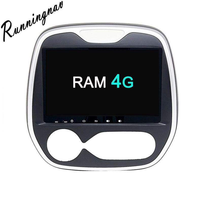 Octa Core RAM 4G ROM 32G Android Fit Renault Captur /CLIO/Samsung QM3 2011 2012 2013 2014 2015 2016 Car DVD Navigation GPS Radio