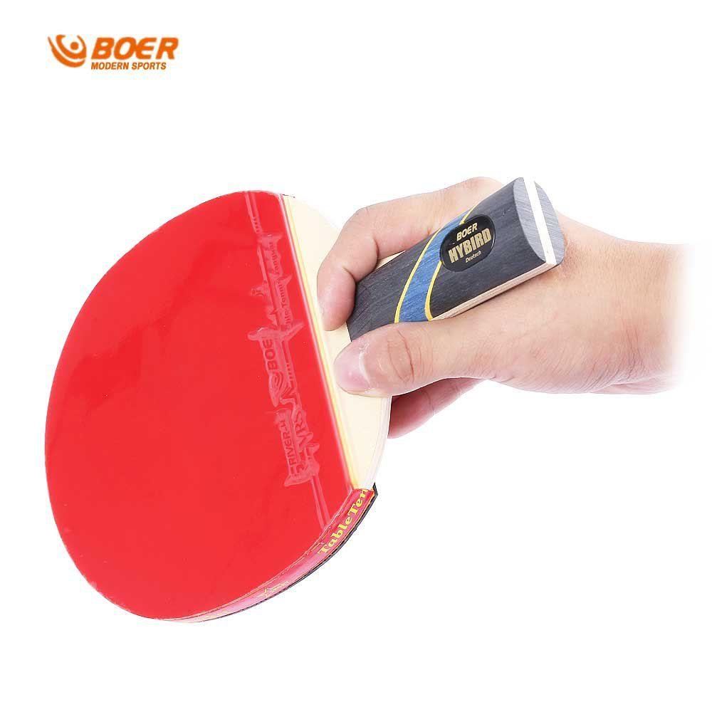 BOER S5 Qualität Tischtennisschläger Reinem Holz Pickel-in Rubber Bat Pickel-in Schläger rubber bat für schnelle Angriff Typ Player