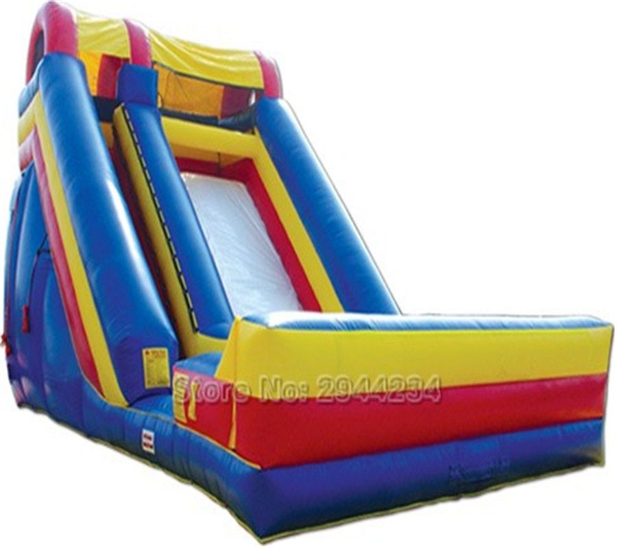 Free blower Inflatable Slide For outdoor playground