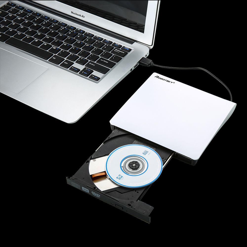 New External USB3.0 DVD+/-R 8X , DVD-RW 4X , CD-R 24X , DVD8X , DVD-R Burner read Writer POP-UP for Laptop Mobile External Drive