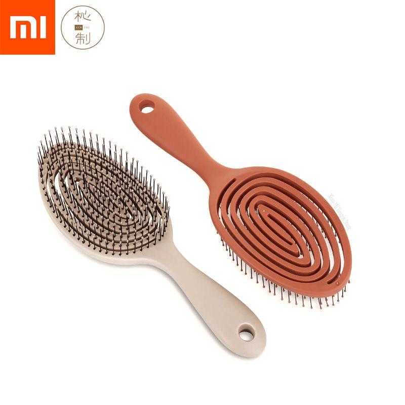 Xiaomi Mijia Xinzhi relaxant élastique Massage peigne Portable brosse à cheveux brosse de Massage antistatique magique brosses peignes tête