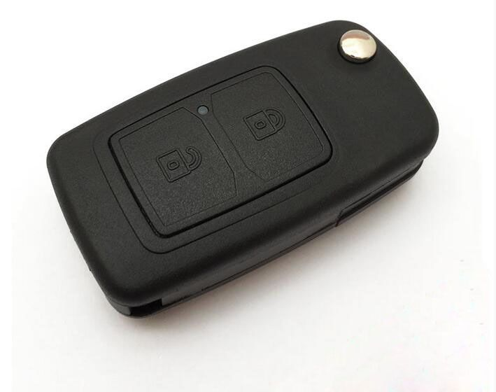 2 Buttons Replacement Flip Folding Remote key shell Case For Chery Tiggo 3 5 QQ E5 A3 A5 E5 Fulwin2 X1 M1 V5 Fob Key Cover