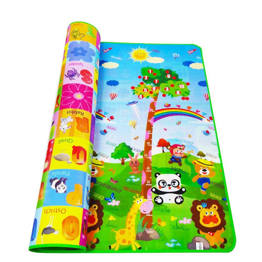 Playmat Baby Play Mat Toys For Children's Mat Rug Kids Developing Mat Rubber Eva Foam Play 4 Puzzles Foam Carpets DropShipping