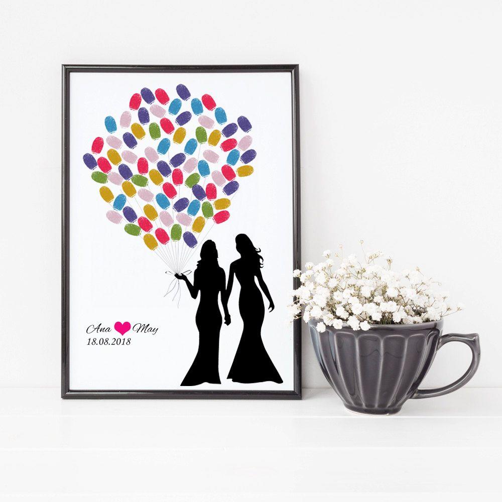Decoración de La Boda personalizada Para Lesbianas Creativa Matrimonio Aniversario Regalo de Boda del Regalo Del Recuerdo Para La Homosexualidad