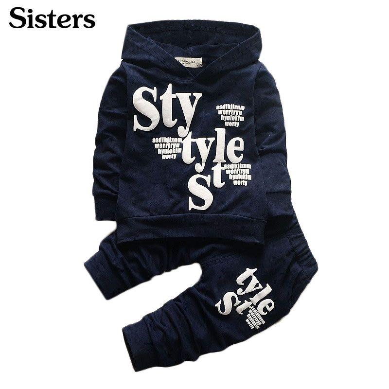 Nouveauté enfants vêtements garçons vêtements ensemble 2 pièces coton chemise + pantalon enfant en bas âge garçons vêtements enfants costumes bébé garçon vêtements ensemble