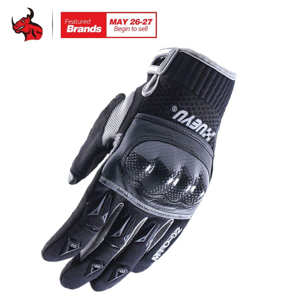 XUEYU Motorrad Handschuhe Motocross Racing Handschuhe Moto Bike Racing Guantes Kohlefaser Shell Motorrad Enduro Volle Finger Luvas
