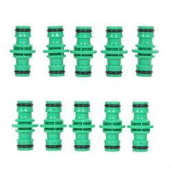 10 Pcs/lot En Plastique Arrosage Tuyau Raccord De Tuyau Ensemble Connecteur Tuyau Coupleurs pour Plantes de Jardin Pelouse Arrosage Kits Jardin Outils