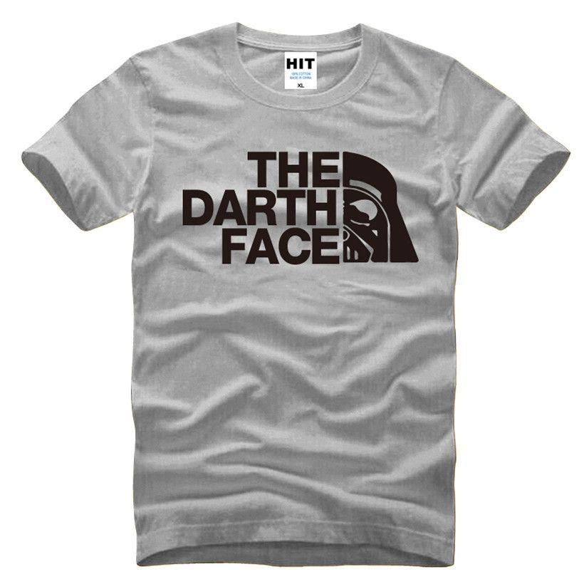 Film Star Wars Darth Vader Nouveauté Hommes de T-Shirt T-shirt hommes 2016 Nouveau À Manches Courtes Coton Casual Top T Chemisettes Hombre