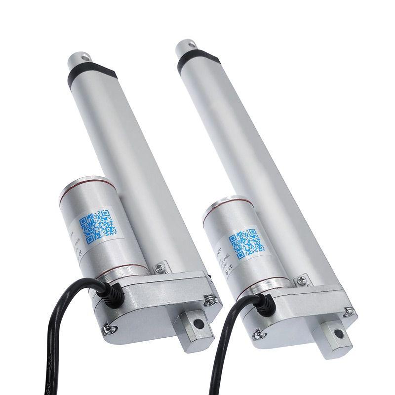 Electric Linear Actuator 200mm 150mm 12V/24V DC Motor Stroke Linear motor Controller 100/200/300/500/750/800/900/1100/1300/1500N