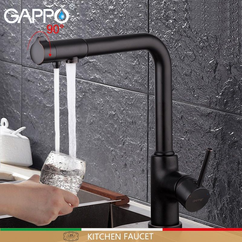 GAPPO kitchen faucet with filtered water faucet tap kitchen sink faucet filtered faucet kitchen crane mxier taps torneira