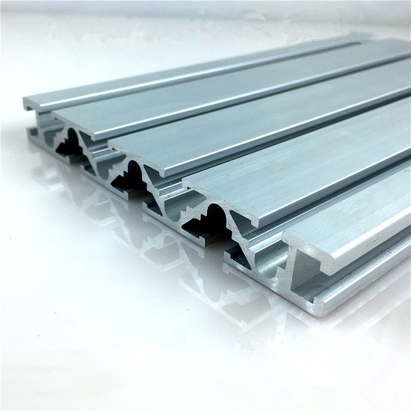 15120 aluminum extrusion profile wall thickness 1.5mm groove width 6mm length 250mm industrial aluminum profile workbench 1pcs