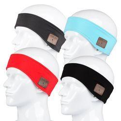 Sport Head Band Smart Bluetooth Headband Bluetooth Headset Headphones Wireless Sport Earphone For iPhone Android Phone