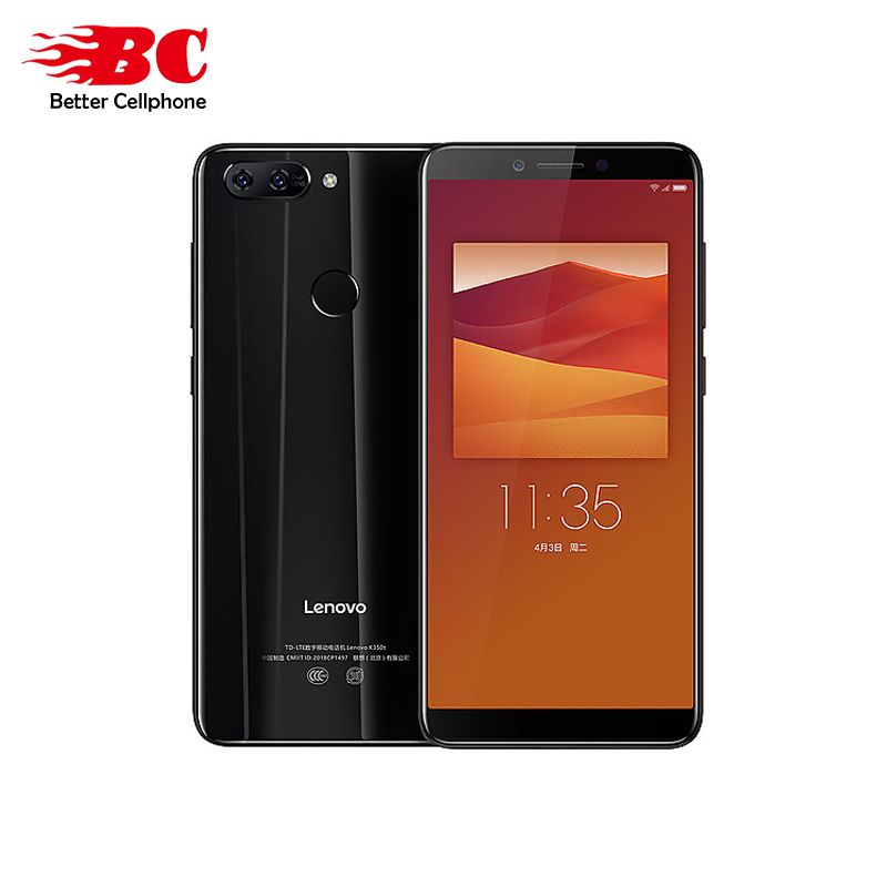 Original multi-language version Lenovo K5 K350t 3GB+32GB MTK6750 Octa core 5.7 Inch 2.5D glass Dual camera 13.0MP+5.0MP 3000mAh