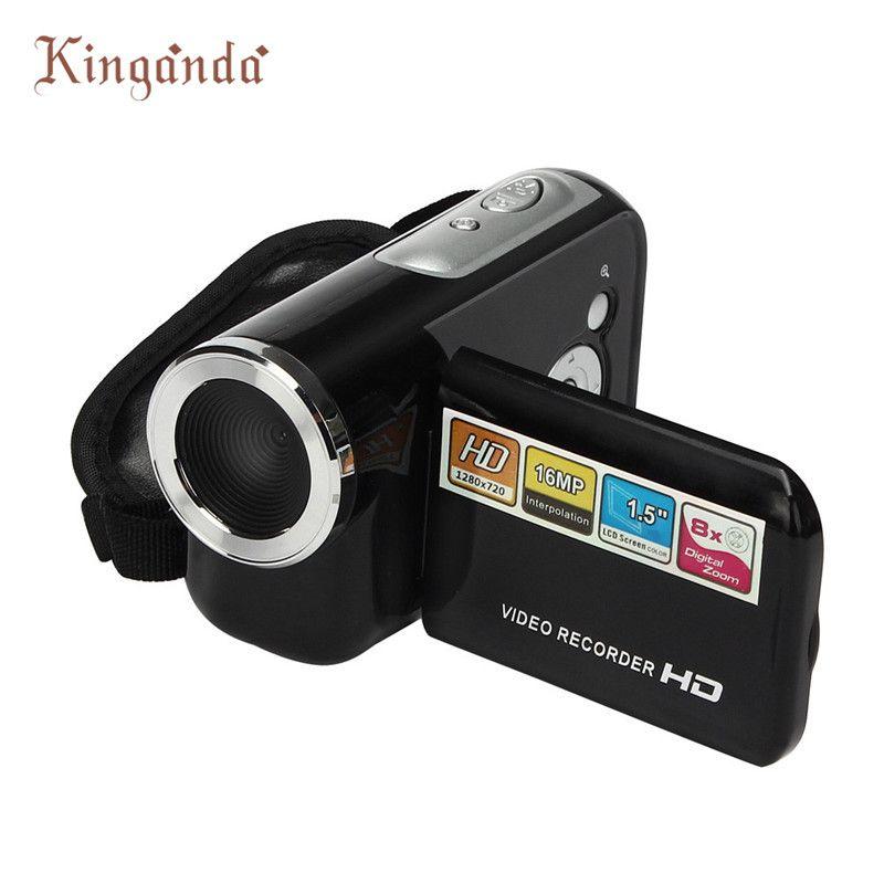 Chaud! Portable et Mini HD 720 p Caméra Caméscope 1.5 pouce TFT 16MP 8X Vidéo Zoom Numérique Caméra Caméscope DV # dec7