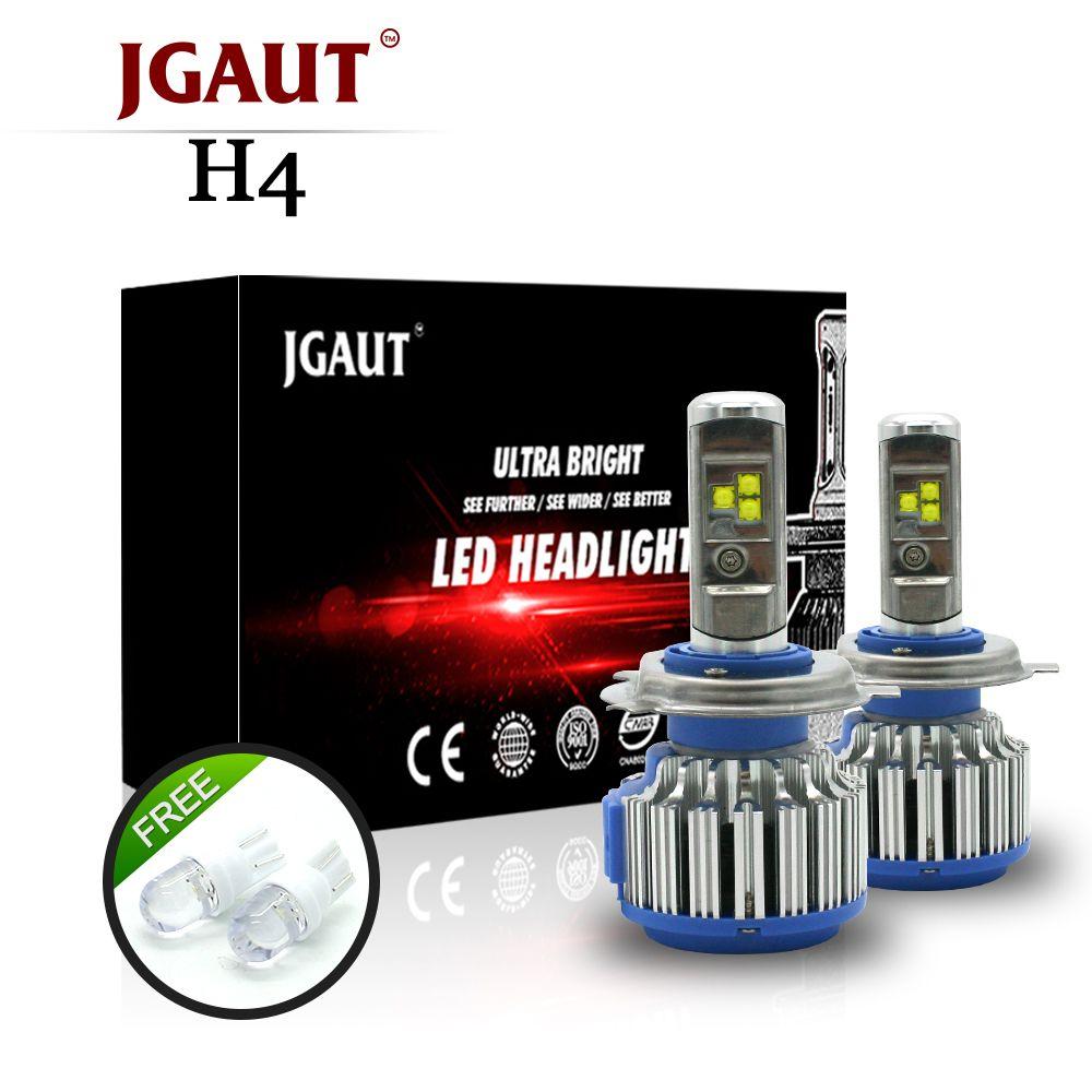 T1 H4 светодиодный автомобиля Фары для автомобиля H7 светодиодный H1 H3 H11 880 H13 9005 9006 9007 9004 80 Вт 70 Вт 7000lm авто спереди лампы автомобилей фары 6000 К