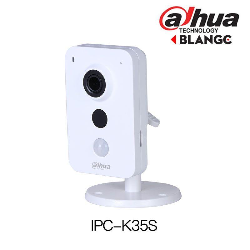 DaHua Wireless IP Camera IPC-K35S 3MP Dual Band Wi-Fi Network Camera built in mic and speaker mini PIR replace DS-2CD2442FWD-IW