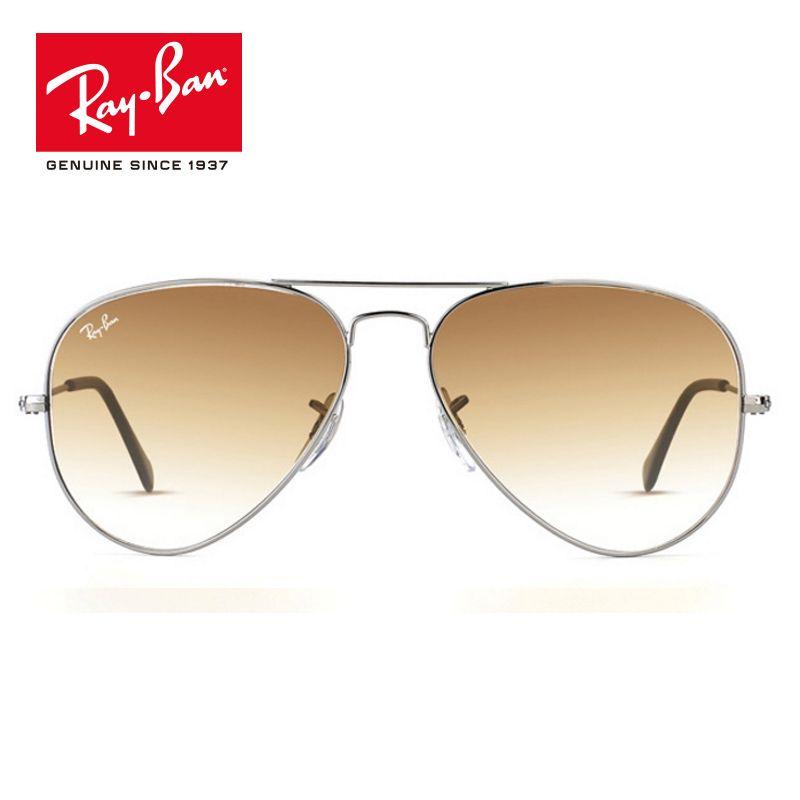 Rayban Original classic Pilot UV Protection Sunglasses Men Women Brand Designer Sun Glasses prescription RB3025-004/51