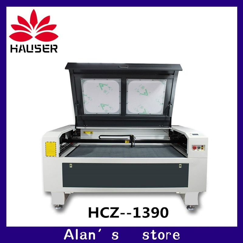 1390 laser co2 100w high power laser engraving machine, laser cutting machine, laser marking machine, working size 1300 * 900mm