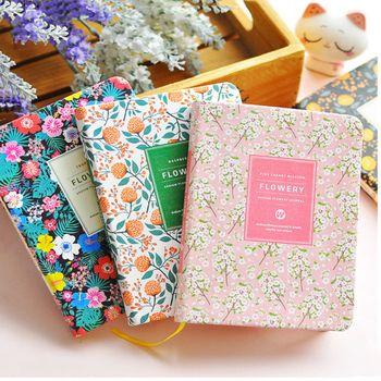 Новое поступление Милые ПУ кожа цветочный цветок расписание ежедневник дневник еженедельник школьные милые офисные принадлежности канцел...