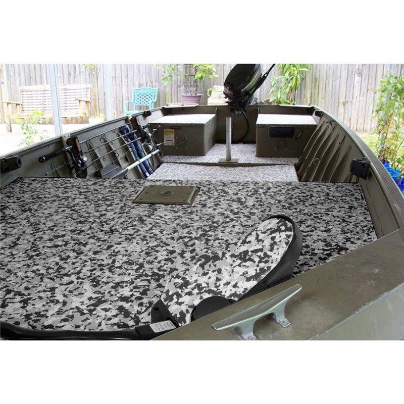 47''x94'' Black White Camouflage EVA Foam Boat Yacht Flooring Decking Sheet Mat Teak Decking Sheet ATV Parts & Accessories