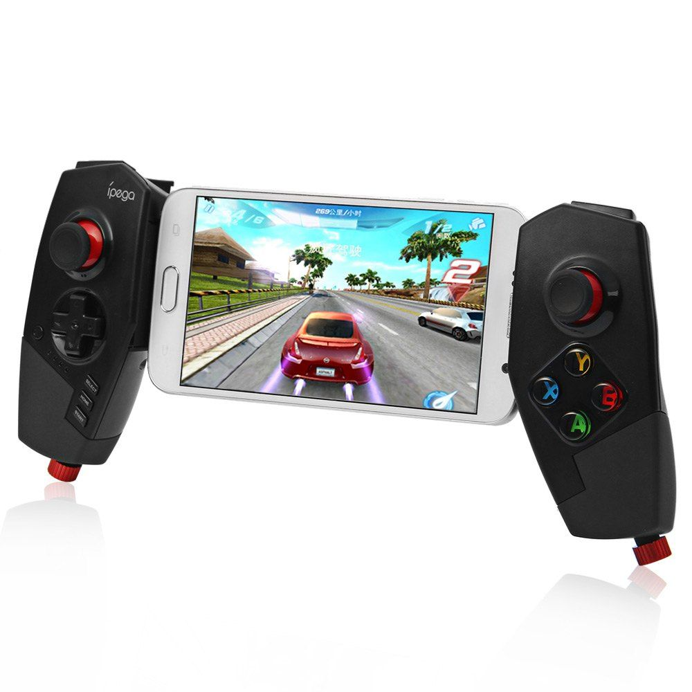 HOT IPEGA PG-9055 Wireless Bluetooth 3.0 Game Controller <font><b>Joystick</b></font> with Stretch Bracket for iOS ipad Android Smartphone TV Box