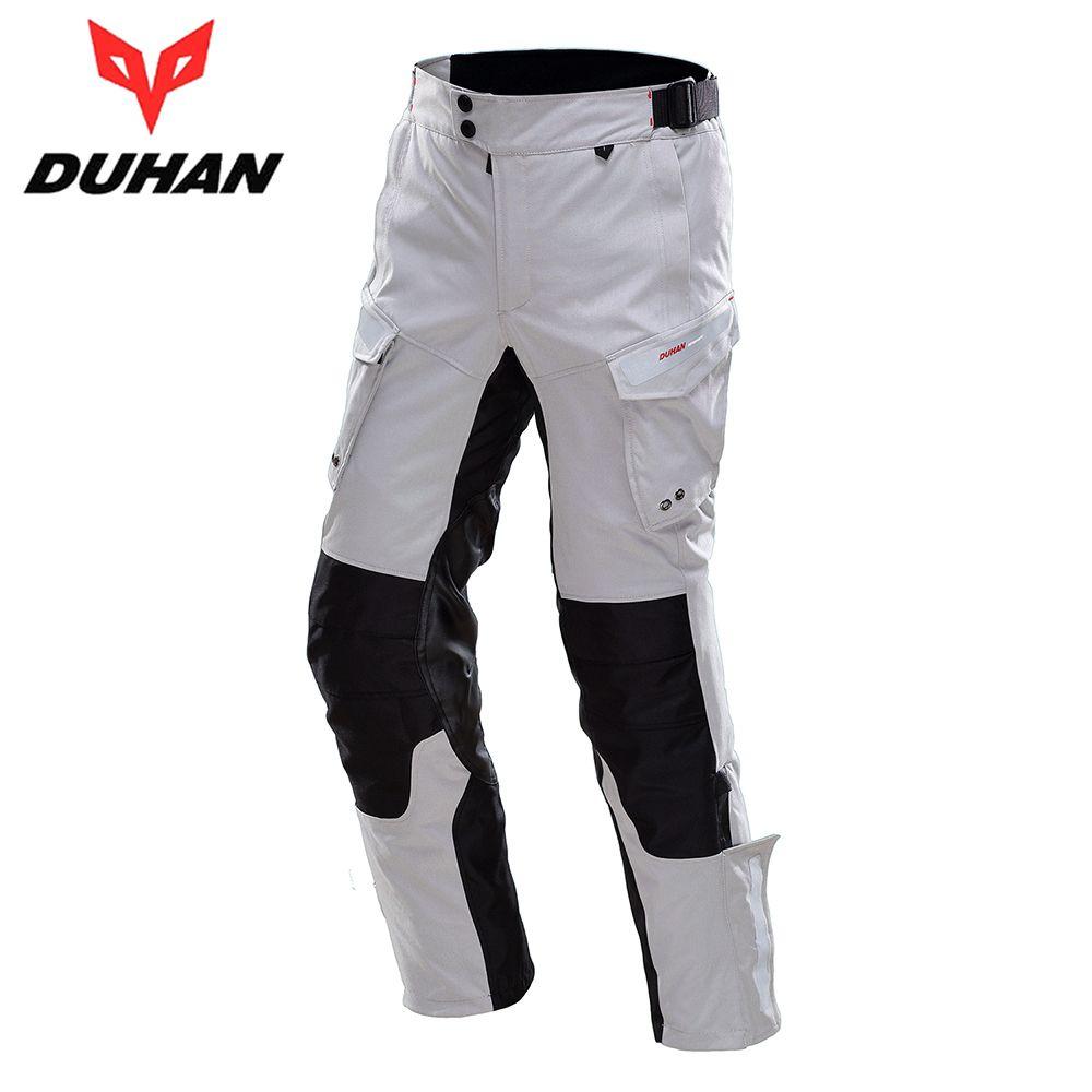 DUHAN Motorcycle Pants Men Moto Pants Motorcycle Touring Travel Riding Pants Waterproof Rain-Proof Pants Racing Trousers