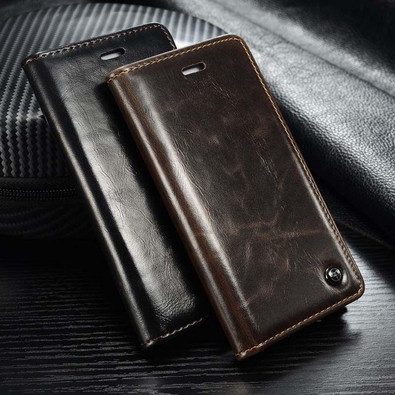 4 Styles Étui À Rabat pour iPhone 6 s 6 5S Souple En Cuir PU Portefeuille En Silicone pour iPhone 6 Plus iPhone 7 8 Plus Étui iPhone X Coque