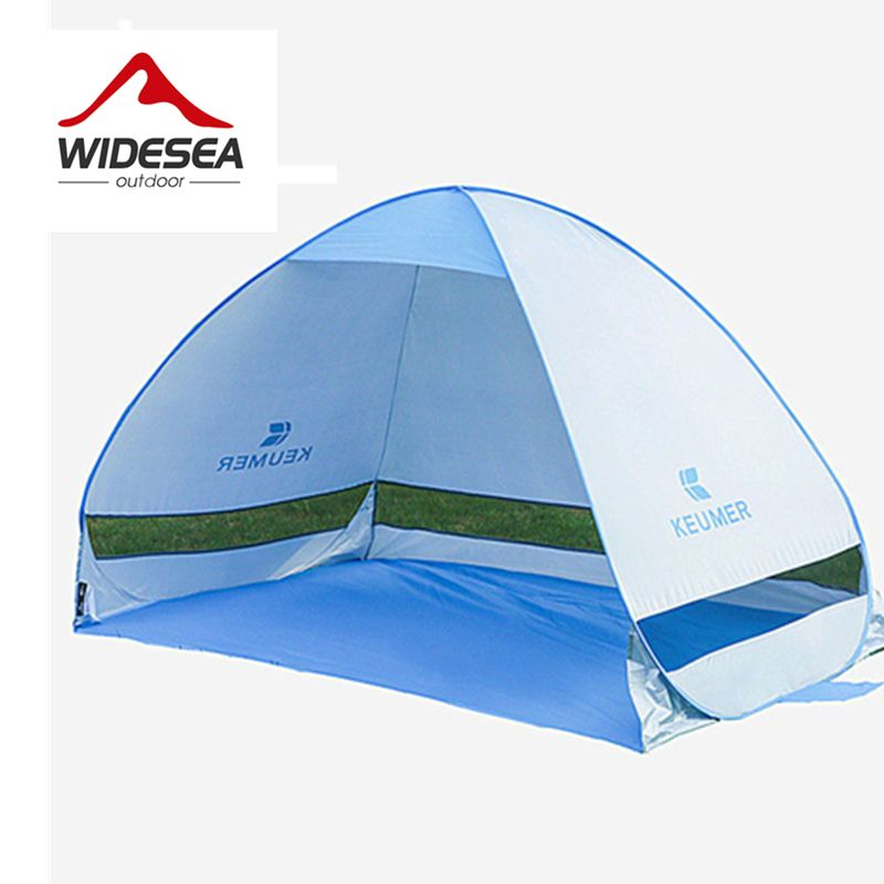 Quick Automatic Opening beach tent UV-protective sun <font><b>shelter</b></font> shade waterproof pop up open gazebo for outdoor camping fishing