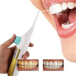1 unidades portátil Higiene Dental Floss Dental Water Jet flosser limpieza boca diente dentadura Cleaner irrigador