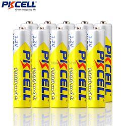 10 шт. PKCELL aaa батарея 3A 1000 мАч 1,2 в NIMH aaa аккумуляторная батарея aaa Ni-MH батарейки ААА аккумуляторная батарея