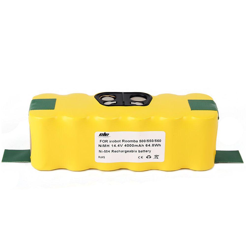 10x New 4000mah NI-MH Vacuum Battery for iRobot Roomba 500 560 530 510 562 550 570 581 610 650 790 780 532 760 770 +Hand Spinner