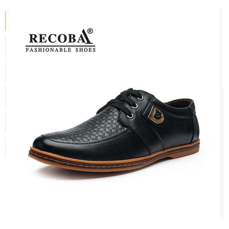 2017 moda de Nueva Hombres zapatos casual luxury brandflat plus de gran tamaño de los zapatos