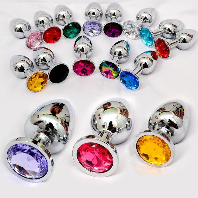 Produits sexuels jouets sexuels anaux petite taille jouets anaux en métal godemichet Anal Plug Anal en acier inoxydable, jouets sexuels produits sexuels pour adultes