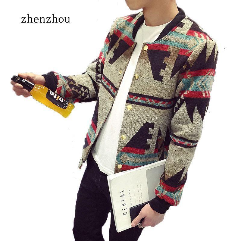 Bomber Veste Hommes 2018 Automne veste pour hommes Patchwork Impression Polaire D'hiver Veste veste homme Hommes grande taille M-5XL Chaquetas Hombre