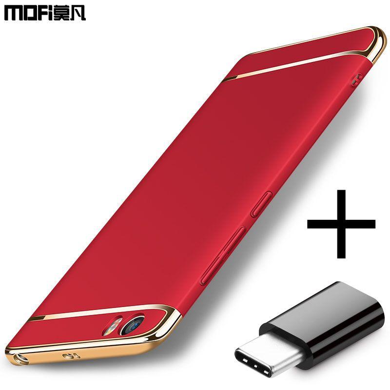 Xiaomi mi5 cas xiaomi mi5 retour housse de luxe armure pare-chocs mofi équipée protection coque de luxe mi 5 capas xiaomi mi5 cas