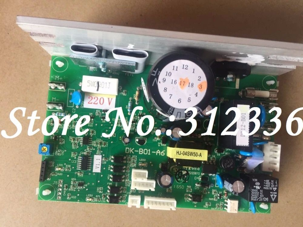 Freies Verschiffen DK-B01-A6 Motor controller optimale gesundheit laufband platine motherboard kann statt DCMD57 DCMD67