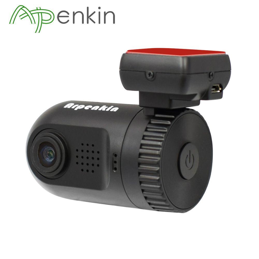 Arpenkin Mini 0805 Dash Cam Car DVR Camera Ambarella A7LA50 Super HD <font><b>1296P</b></font> Recorder Motion Detection G-sensor GPS Logger DVR