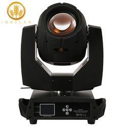 Imrelax Double Prism Shatter Beam 230 W 7R Moving Head dengan G Klem Dasar Cepat Silent Beam 230 beam 7R Tahap DJ Disko Lampu