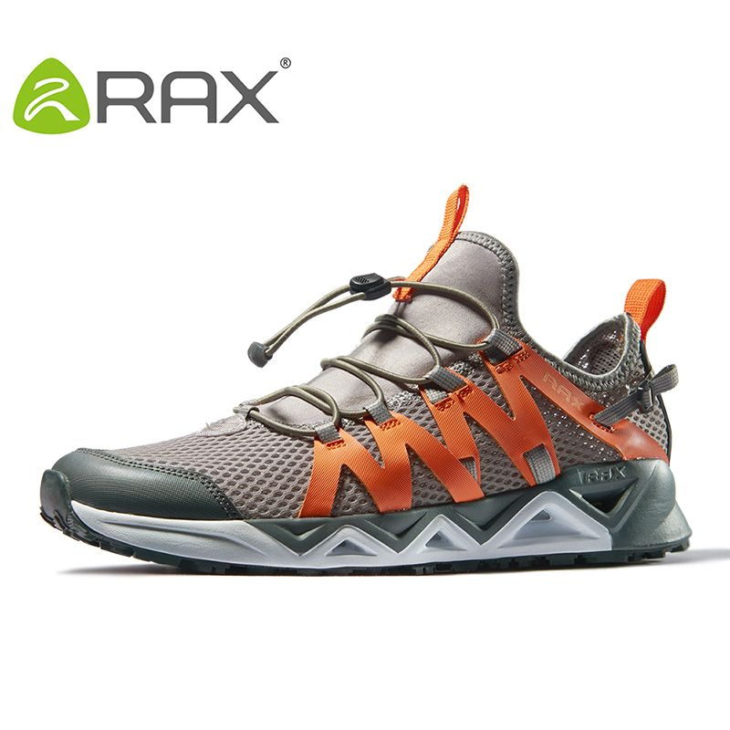 Rax Men's <font><b>Aqua</b></font> Upstreams Shoes Quick-drying Breathble Fishing Shoes Women Hole PU Insole Anti-slip Water Shoes 82-5K463