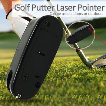 Аксессуары для гольфа Putter лазерная указка установка тренировка цель линия корректор улучшить помощь Инструмент практики