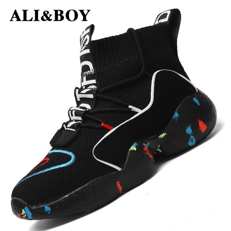 High Top chaussures de course Pour homme femme bottines Thermique Hiver Chaussures Femmes Hommes doublure en fourrure chaussures de sport de Sport chaussures de sport pour homme