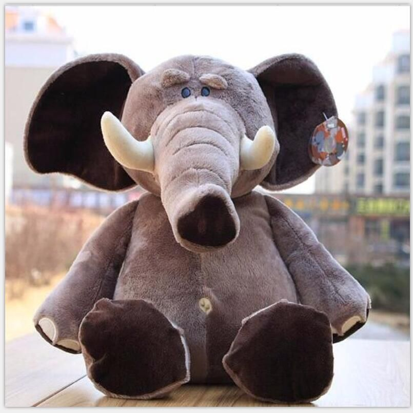 Marque Jungle Brothers peluche peluche éléphant animaux pour cadeaux d'enfant, 10