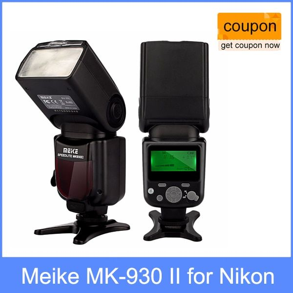 Meike MK-930 II, MK930 Flash Speedlight for Nikon D70 D80 D300 D700 D90 D300s D7000 D3200 D800 D800e as Yongnuo YN-560 II YN560
