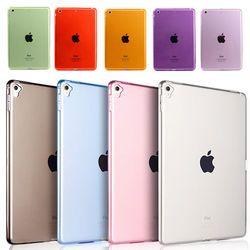Untuk Apple Ipad Mini 1 2 3 4 Case TPU Lembut Bumper Belakang Penutup Case untuk iPad Mini 4 3 2 1 7.9