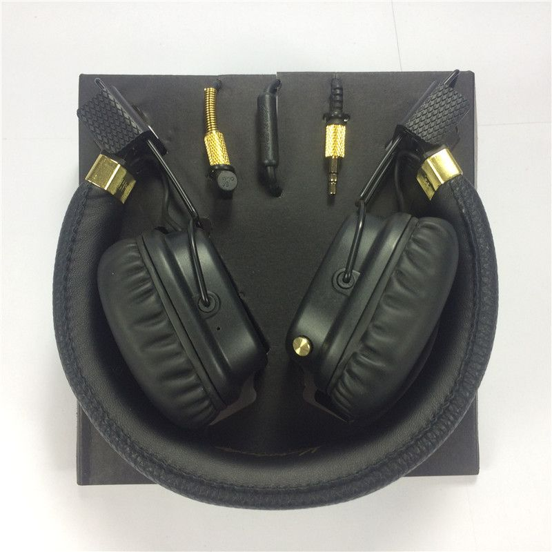 24 Hours shipping Major II Wired Headphones and wireless 2nd major <font><b>headsets</b></font> earphones for marshall good quality